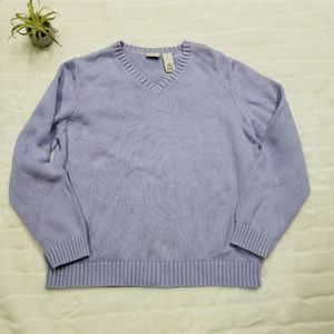 L L Bean women's knit sweater